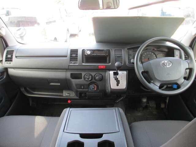 トヨタ レジアスエースバン ロングDX ディーゼルターボ 4WD キーレス 盗難防止装置