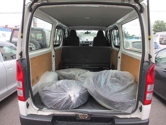 トヨタ レジアスエースバン ロングDX ディーゼルターボ 4WD 両側スライドドア