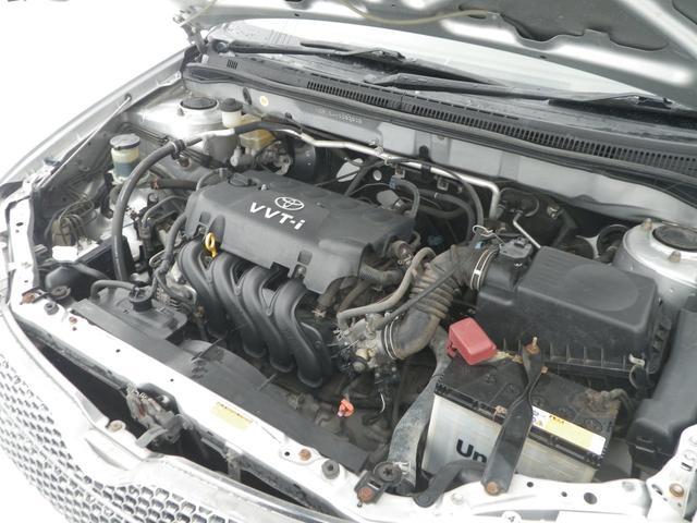 トヨタ カローラフィールダー X Gエディション4WD タイミングチェーン  夏冬タイヤ