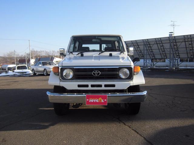 トヨタ ランドクルーザー70 LX 幌 ディーゼル 4WD