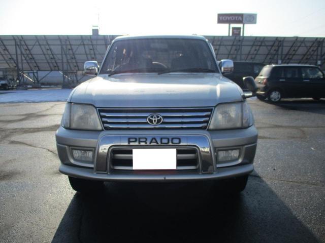 「トヨタ」「ランドクルーザープラド」「SUV・クロカン」「北海道」の中古車3