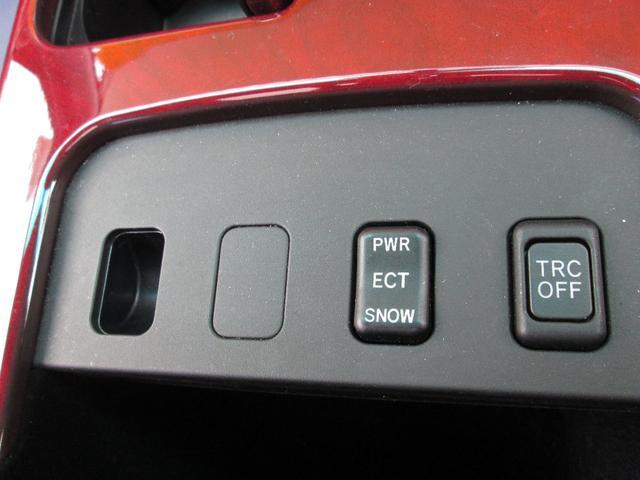 トラクションコントロールと、冬確かなスノーモードも装備です☆