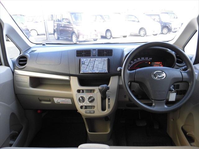 ダイハツ ムーヴ L 4WD メモリーナビ ABS エコアイドル
