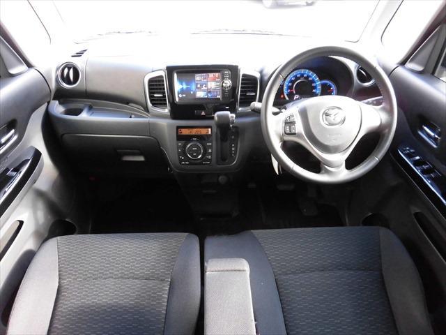 マツダ フレアワゴンカスタムスタイル XS レーダーブレーキ 4WD スマホ連携ナビ TV ABS