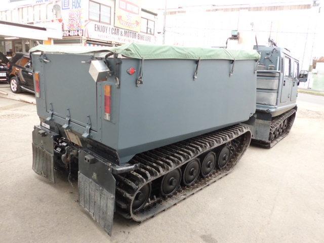 ヘグランドBV206S 全地形車輌 水陸両用(8枚目)