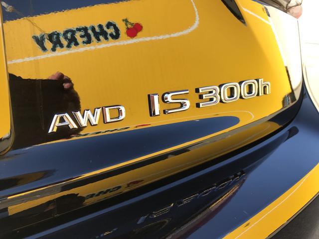 IS300h バージョンL 4WD ナビ クリアランスソナー(12枚目)