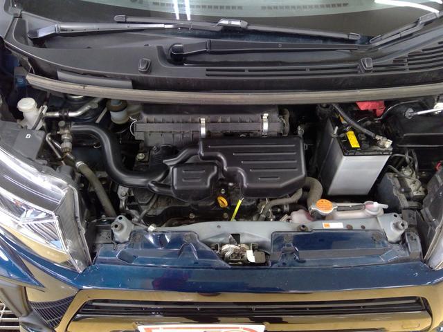 カスタム X 4WD LEDヘッドライト オートライト スマートキー プッシュスタート オーディオレス 運転席シートヒーター ベンチシート オートエアコン 純正アルミホイール アイドリングストップ(30枚目)