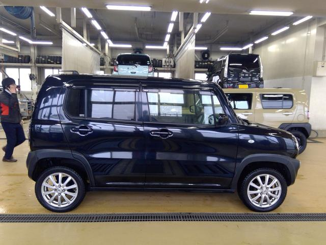 G 4WD キーフリー プッシュスタート カーナビ 運転席シートヒーター ヒルディセントコントロール オートエアコン スタッドレスタイヤ&アルミホイール(4枚目)