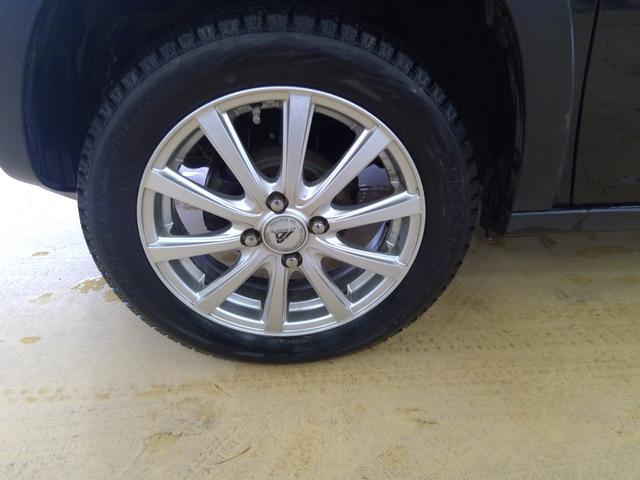 G 4WD キーフリー プッシュスタート カーナビ 運転席シートヒーター ヒルディセントコントロール オートエアコン スタッドレスタイヤ&アルミホイール(26枚目)
