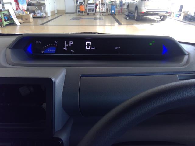 カスタムXセレクション 4WD スマートアシスト 両側パワースライドドア スマートキー LEDヘッドライト LEDフォグランプ オートライト オーディオレス オートエアコン 運転席・助手席シートヒーター 後席テーブル(16枚目)