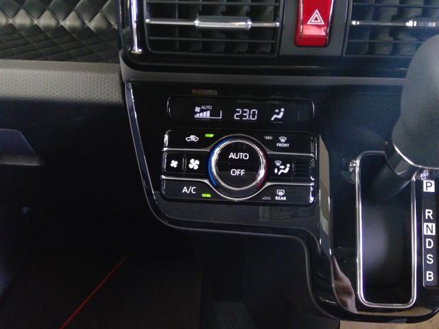 カスタムXセレクション 4WD スマートアシスト 両側パワースライドドア スマートキー LEDヘッドライト LEDフォグランプ オートライト オーディオレス オートエアコン 後席テーブル 運転席・助手席シートヒーター(16枚目)