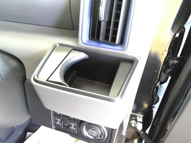 カスタムXセレクション 4WD スマートアシスト 両側パワースライドドア スマートキー LEDヘッドライト LEDフォグランプ オートライト オーディオレス オートエアコン 後席テーブル 運転席・助手席シートヒーター(25枚目)