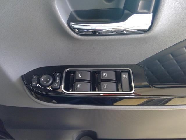 カスタムXセレクション 4WD スマートアシスト 両側パワースライドドア スマートキー LEDヘッドライト LEDフォグランプ オートライト オーディオレス オートエアコン 後席テーブル 運転席・助手席シートヒーター(27枚目)