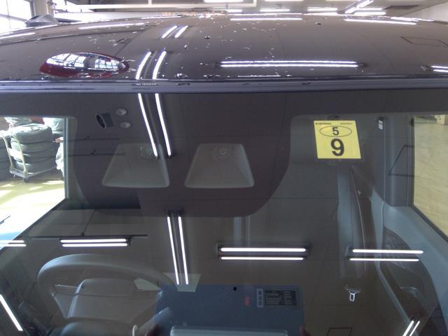 カスタムXセレクション 4WD スマートアシスト 両側パワースライドドア スマートキー LEDヘッドライト LEDフォグランプ オートライト オーディオレス オートエアコン 後席テーブル 運転席・助手席シートヒーター(34枚目)