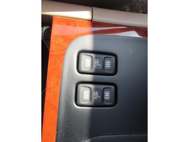 シグナス レザーシート サンルーフ 純正ナビ アクティブハイトコントロールサスペンション シートヒーター デュアルエアコン CDチェンジャー クルーズコントロール 運転席メモリー機能付きパワーシート(20枚目)