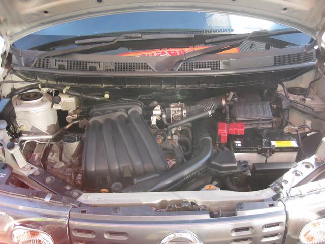 日産 キューブ 15S FOUR 4WD 夏冬タイヤ付 走行無制限保証付