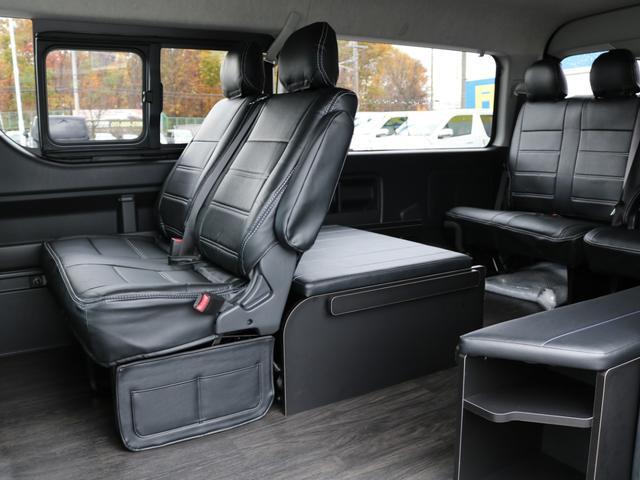 GL 4WD 車中泊 内装架装 収納型ベットパネル R1(9枚目)