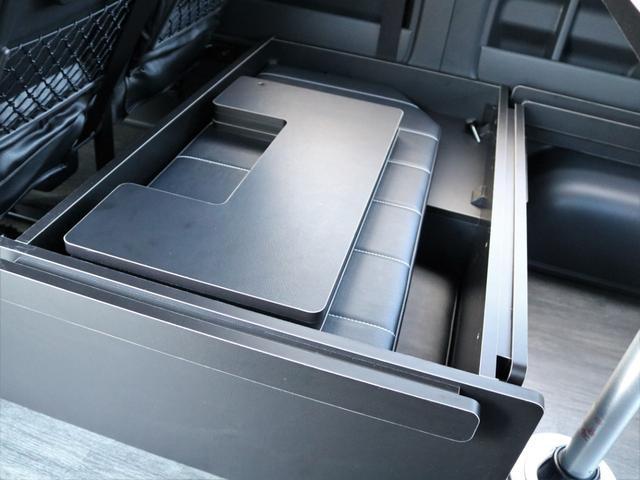 GL 4WD 車中泊 内装架装 収納型ベットパネル R1(10枚目)