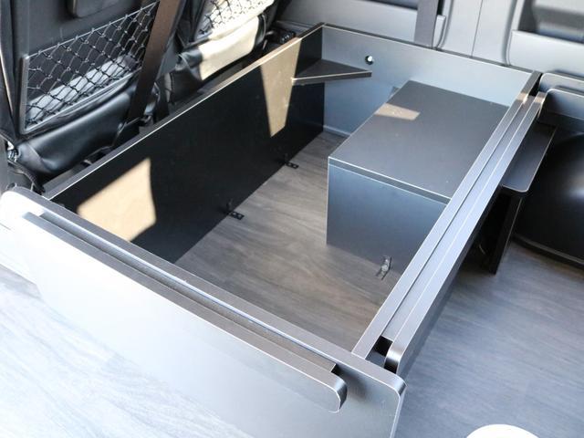 GL 4WD 車中泊 内装架装 収納型ベットパネル R1(11枚目)