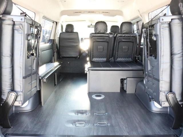 GL 4WD 車中泊 内装架装 収納型ベットパネル R1(13枚目)