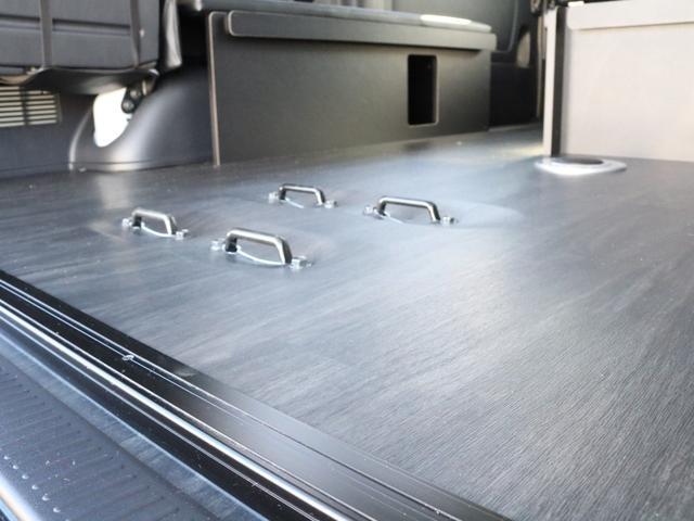 GL 4WD 車中泊 内装架装 収納型ベットパネル R1(14枚目)