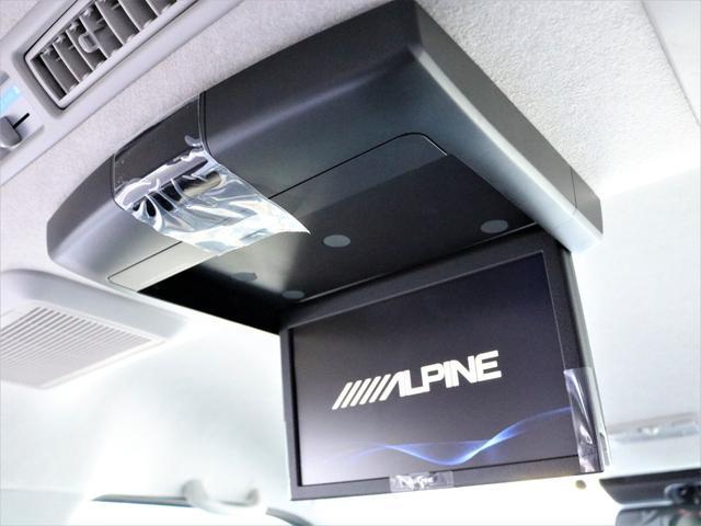 スーパーGL ダークプライムII デジタルインナーミラー インテリジェントクリアランスソナー パノラミックビューモニター 寒冷地仕様 AC100V フロントリップスポイラー アルミホイール LEDテールランプ(14枚目)