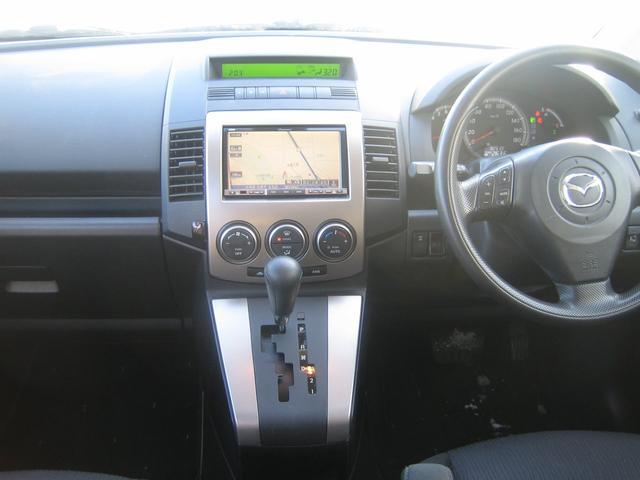 マツダ プレマシー 20S 4WD 両側パワースライド HDDナビ バックカメラ