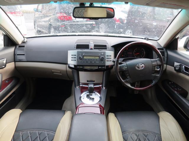 トヨタ マークX 250G Four プッシュスタート
