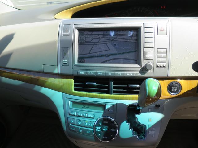 トヨタ エスティマ G 4WD 両側パワースライド HDDナビ ローダウン