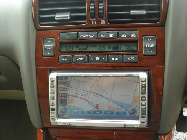 S300ウォールナットPK20AWサンルーフHDDナビ(9枚目)