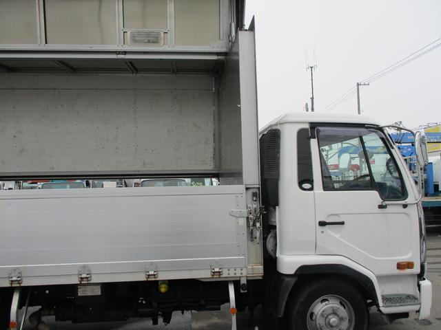 日産ディーゼル コンドル アルミウイング セミワイド 積載3200