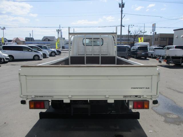 いすゞ エルフトラック 4WD ワイドロング 積載2000