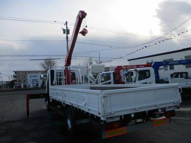 4トン 4段クレーン ラジコン ワイドアウトリガー(9枚目)