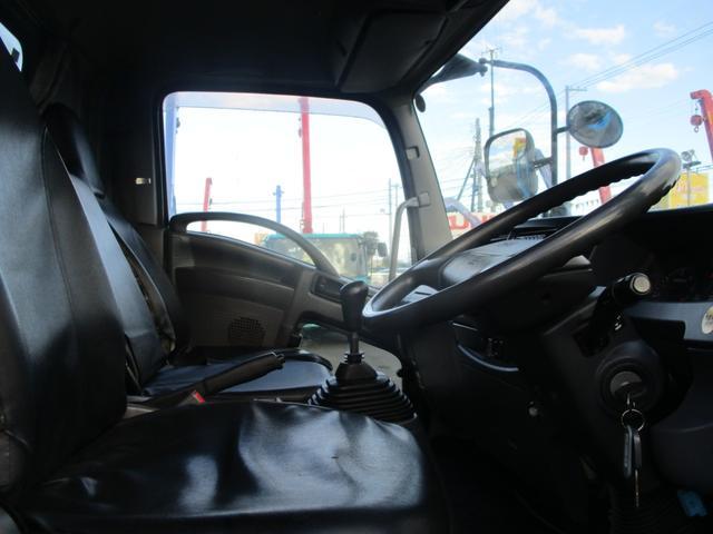 中型増トン 極東プレス式パッカー車 8.7m3 上物点検済み 車輌総重量11トン未満(12枚目)