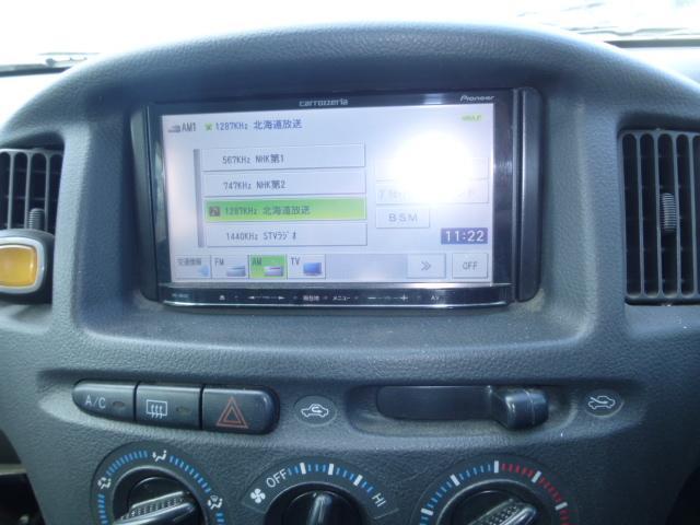 トヨタ サクシードバン UL Xパッケージ 4WD 社外メモリーナビ・キーレス