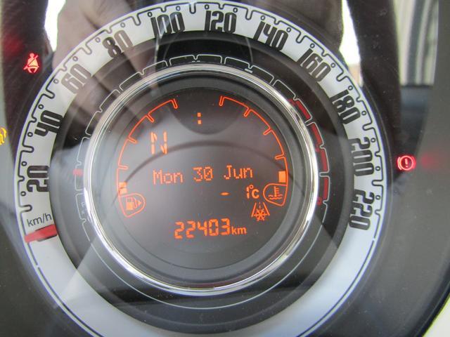 ツインエア ポップ 900cc 2気筒ターボ ATモード搭載デュアロジック5段ミッション イラリアンフラッグフェンダーバッヂ キセノンライト 赤基調内装 クロームバンパーモールディング CDラジオ ETC AT限定免許可(4枚目)