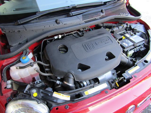 ツインエア ポップ 900cc 2気筒ターボ ATモード搭載デュアロジック5段ミッション イラリアンフラッグフェンダーバッヂ キセノンライト 赤基調内装 クロームバンパーモールディング CDラジオ ETC AT限定免許可(18枚目)