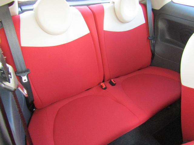 ツインエア ポップ 900cc 2気筒ターボ ATモード搭載デュアロジック5段ミッション イラリアンフラッグフェンダーバッヂ キセノンライト 赤基調内装 クロームバンパーモールディング CDラジオ ETC AT限定免許可(64枚目)