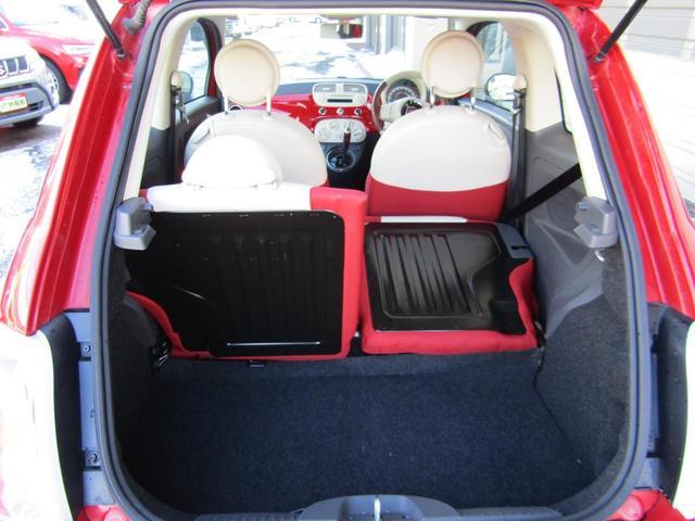 ツインエア ポップ 900cc 2気筒ターボ ATモード搭載デュアロジック5段ミッション イラリアンフラッグフェンダーバッヂ キセノンライト 赤基調内装 クロームバンパーモールディング CDラジオ ETC AT限定免許可(66枚目)