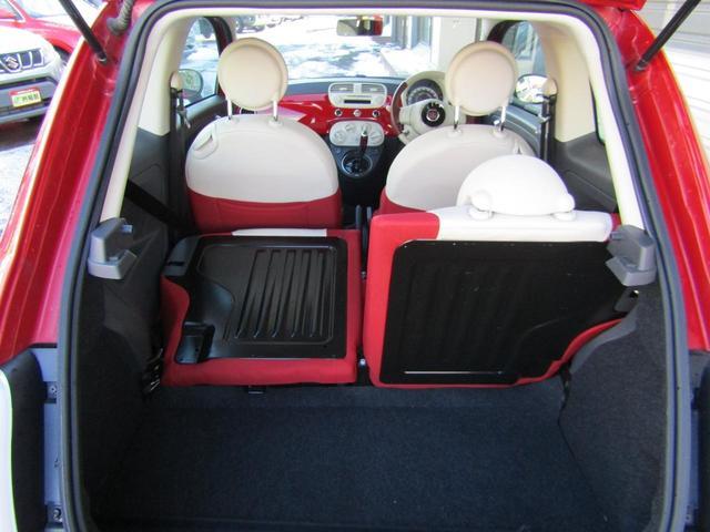 ツインエア ポップ 900cc 2気筒ターボ ATモード搭載デュアロジック5段ミッション イラリアンフラッグフェンダーバッヂ キセノンライト 赤基調内装 クロームバンパーモールディング CDラジオ ETC AT限定免許可(67枚目)