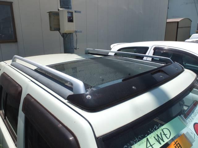 日産 ラシーン タイプII 4WD サンルーフ