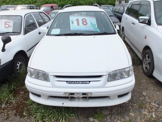 トヨタ スプリンターカリブ Sツーリングリミテッド アルミ CDMD