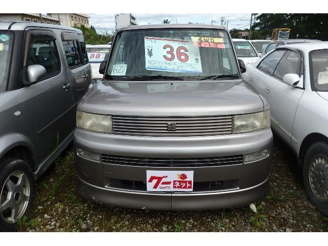 トヨタ bB Z Xバージョン 4WD 純正エアロ CD アルミ