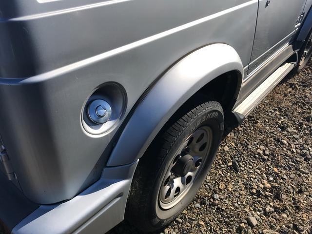 エルク 4WD 4名乗り SUV グレー(8枚目)