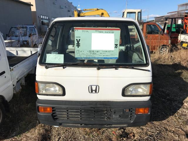 4WD 軽トラック ホワイト 車検整備付(2枚目)