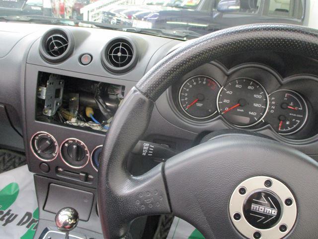 ダイハツ コペン アクティブトップ ターボ 赤レザーシート ETC ABS