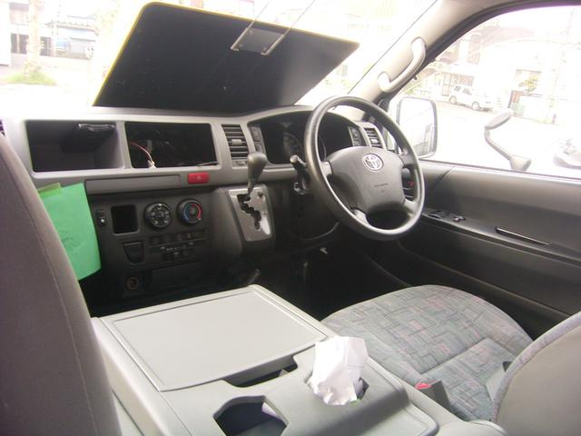 トヨタ ハイエースコミューター スーパーロングGL キャンピング 4WD