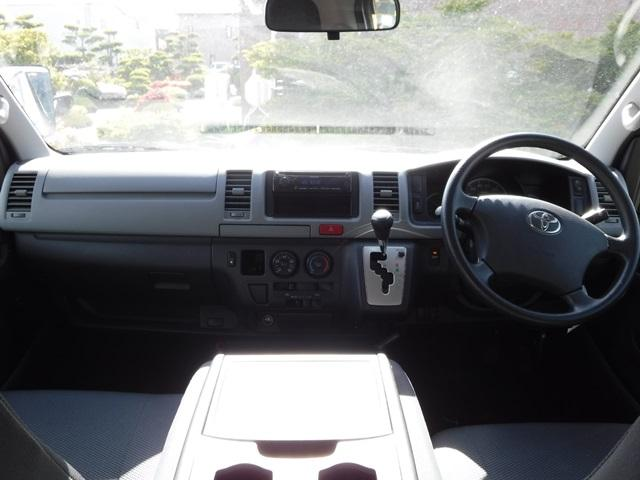 トヨタ レジアスエースバン ウェルキャブ 4WD Bタイプ車いす移動車2基 リアヒーター