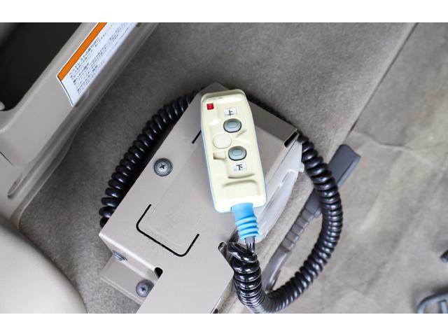スローパー 車イス1台移動車後部電動固定リアシート付 4WD(18枚目)
