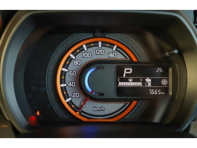 ハイブリッドXZ 4WD レンタアップ 社外メモリーナビ ワンセグTV ETC 衝突軽減サポート Iストップ シートH ミラーH 両側パワスラ レーンアシスト リアソナー LEDライト・フォグ ルーフレール 純正AW(11枚目)